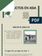 Conflictos en Asia -Ledys Reyes