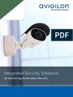 Avigilon Security Solutions Brochure en Rev4