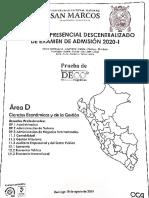 [GACETA PRE-U] - EXAMEN SIMULACRO DECENTRELIZADO 2020-I.pdf