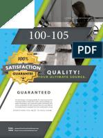 Free Cisco 100-105 Exam Questions