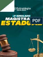2º Simulado Magistratura Estadual 310819