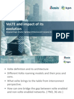 VoLTE and Impact of Its Evolution - KPN