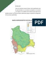 Recursos Hídricos Bolivia