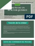 EQUIPO 3 - DISEÑO DE REACTOR -UNIDAD 3.pptx