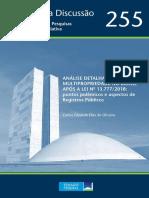 Análise Detalhada Da Multipropriedade No Brasil Após a Lei Nº 13.7772018 Pontos Polêmicos e Aspectos de Registros Públicos