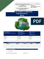 PLA-MA-CAS-01 Rev.0 Plan Ambiental Proyecto Caserones
