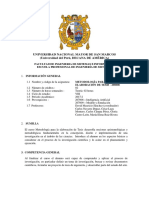 Metodología Para La Elaboración de Tesis 2017-i Plan 2009