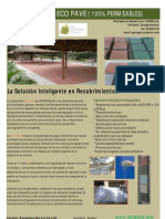 Flyer Adoquines Eco Pave