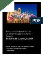 Monografia de Oaxaca