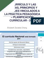 Currículo y Programación Curricular 2019