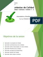 Herramientas de Calidad Unidad 1 Sesion 1 Sesion 2.pptx