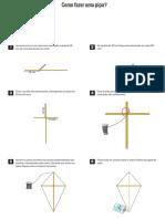 Manual de como fazer uma pipa