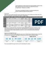 CXD-410 Training Summary