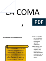 La Coma Word