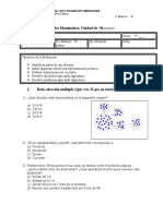 Prueba 5 basico Divisiones