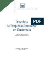 Derecho de Propiedad Inmueble en Guatemala