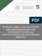 Manual de evaluación del desempeño