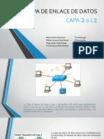 Capa de Enlace de Datos Presentacion