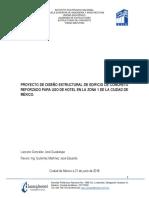 Diseño de edificio en estructura de  concreto