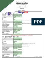 NCR E Sports Forms Generator