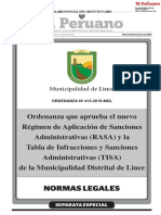 Ordenanza 415 2019 Mdl Lince