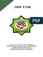Kode Etik SMP Islam Andalusia 1 Kebasen