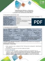 Guía Para El Uso de Recursos Educativos - OVA. Técnicas de Investigación Identificación Del Problema