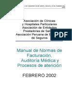 Manual de Normas y facturacion