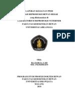 laporan PPDH reproduksi