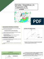 Trabajo 2 Las Coordenadas Geográficas y La Proyección UTM