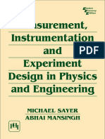 Experiment design in physics