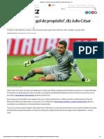 Sportbuzz · _Özil Perdeu Um Gol de Propósito_, Diz Julio César Sobre o 7x1