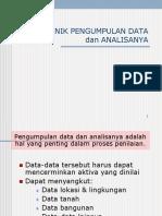 Teknik Pengumpulan Data & Analisanya