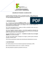 Edital 50-2012 - Olhares Do IFPB