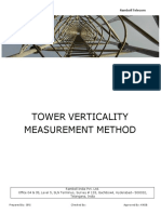 Tower Verticality Inspection Method 17-11-2018 (1)