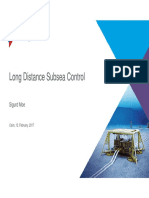 TechnipFMC Long Distance Subsea Control