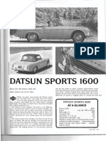 RT May 1967 Datsun 1600