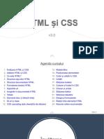 HTML si CSS
