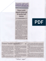 Manila Bulletin, Sept. 2, 2019, House leader appeals phase-out og wooden-hull bancas.pdf