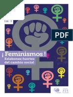 Passerelie. Feminismos.