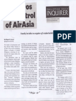 Philippine Daily Inquirer, Sept. 2, 2019, Romeros eye control of Air Asia.pdf