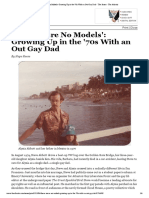'There Were No Models' - Growing Up in the '70s With an Out Gay Dad