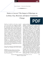 Ocobock - Status or Access - The Impact of Marriage on LGBTQ Community Change