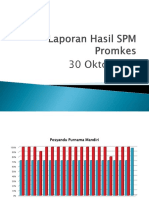 Laporan Hasil SPM Promkes