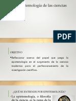 Clase # 2 Epistemología Consideraciones Generales