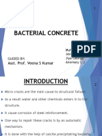 Bacterial Concrete Final Review