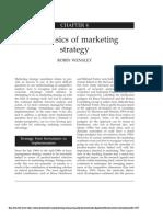 Basics of Marketing Strategy