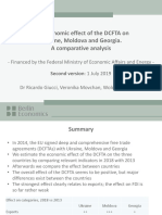 The Economic Effect of the DCFTA on Ukraine Moldova and Georgia – a Comparative Analysis