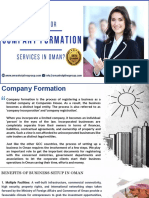 Fast and Reliable Company Formation Services in Oman!