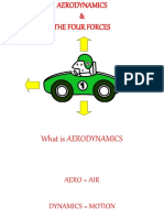 Aerodynamics &the Four Forces
